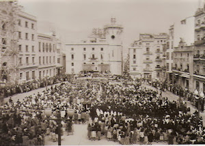 LA PLAZA DE ESPAÑA EN ALCOY