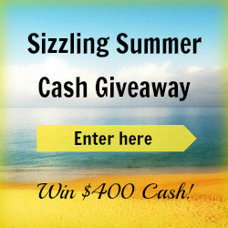 Enter for a chance to win $400 cash. Ends 7/7/13 Open WorldWide