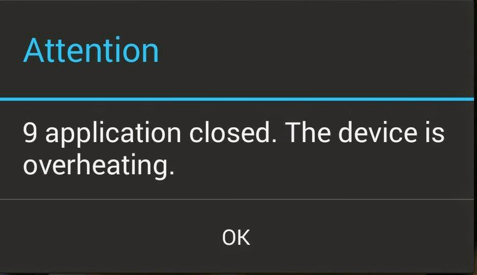 mengatasi panas pada android
