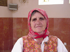 A woman from the village Latnice, Kosovo