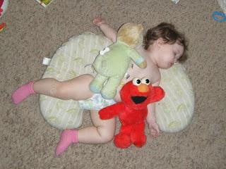 Sasha with Teddy Bear