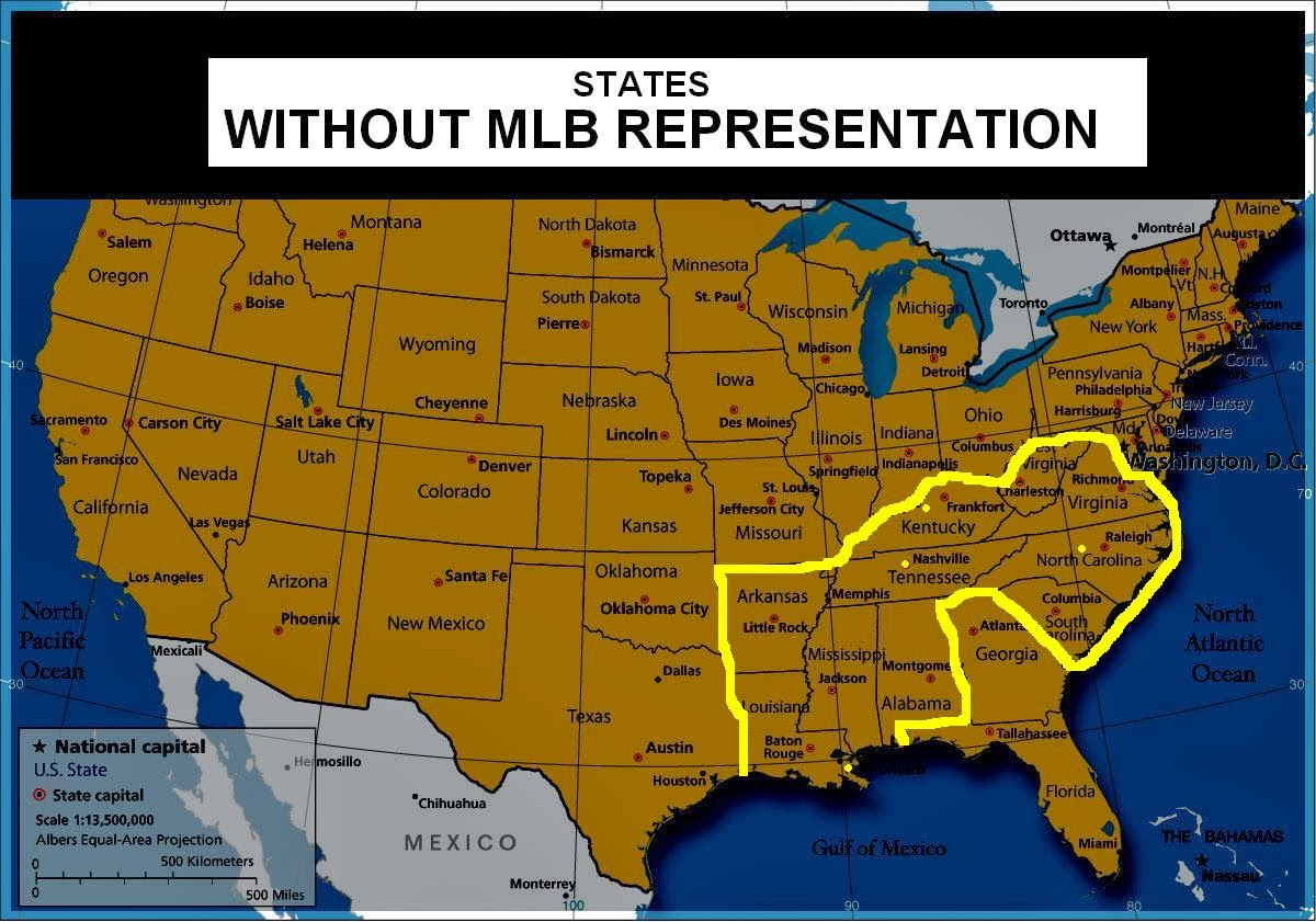 a major league baseball franchise that plays home camp games in more than one city is a regional team