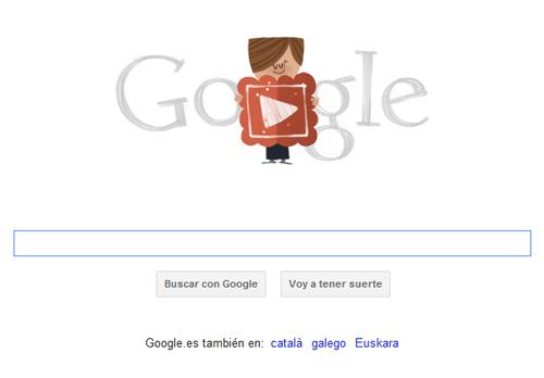 Día de San Valentín celebrado con Doodle por Google