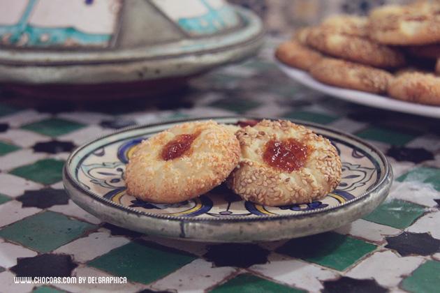 Receta galletas marroquís - Ghoriba