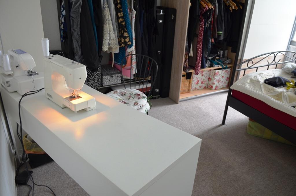 Ikea Tischbeine Feststellen ~ Für besagte Projekte den Nähtisch ein bisschen umarrangieren