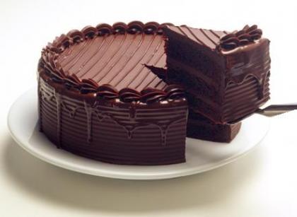 como preparar un pastel de chocolate