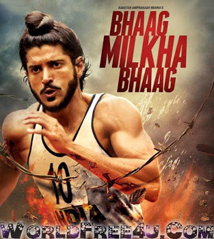 Poster Of Hindi Movie Bhaag Milkha Bhaag (2013) Free Download Full New Hindi Movie Watch Online At worldfree4u.com