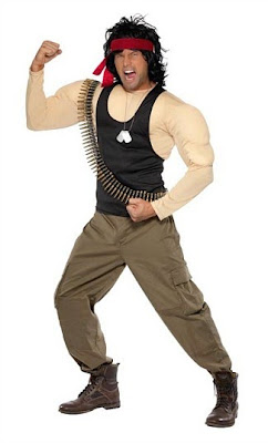 Official Rambo Costume for Men