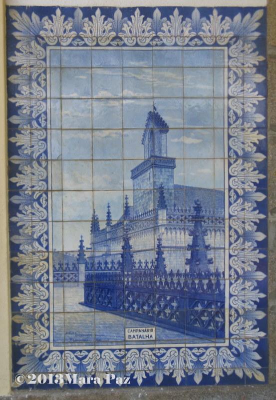 Campanário em azulejo