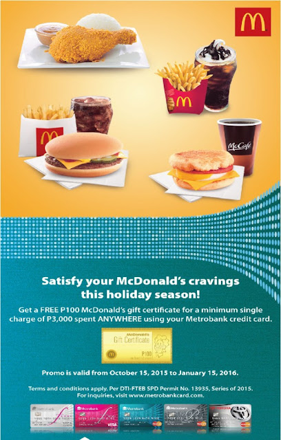 free mcdo gc w/ metrobank ~ philippine freebies, promos, contests ...
