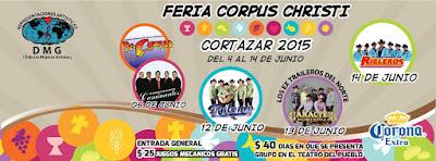 Feria de Corpus Christi Cortázar 2015