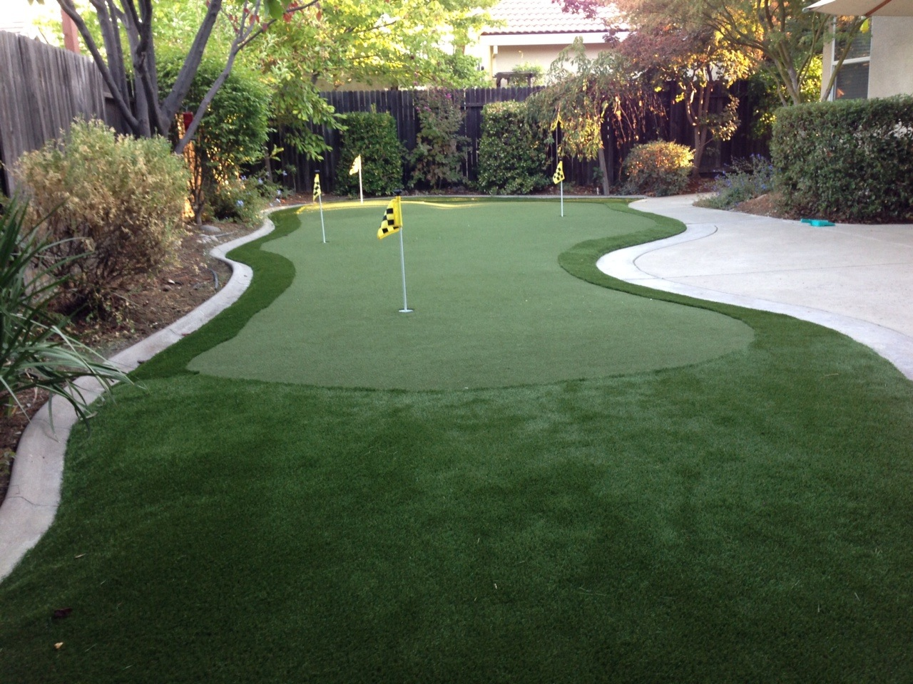 my d i y putting green experience