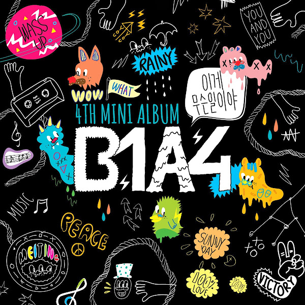 B1A4 What's Happening cover