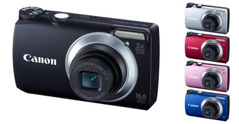 Canon PowerShot A3300 (Giá tham khảo 3,99 triệu)