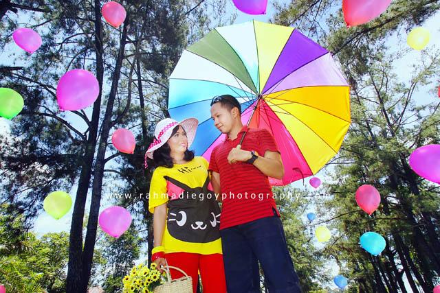 foto prewedding agus dan dewi konsep balon 5