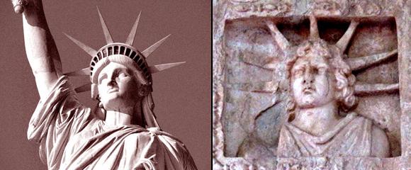 """Όταν ο Φωτοφόρος Απόλλωνας - Ηλίου έγινε το """"Άγαλμα της Ελευθερίας"""""""