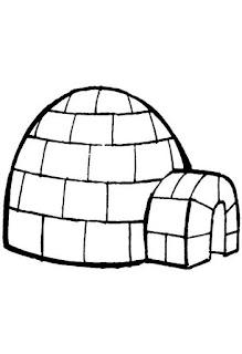 Diversos tipos de moradia - iglu