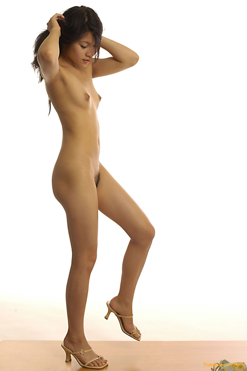 first naked photoshoot