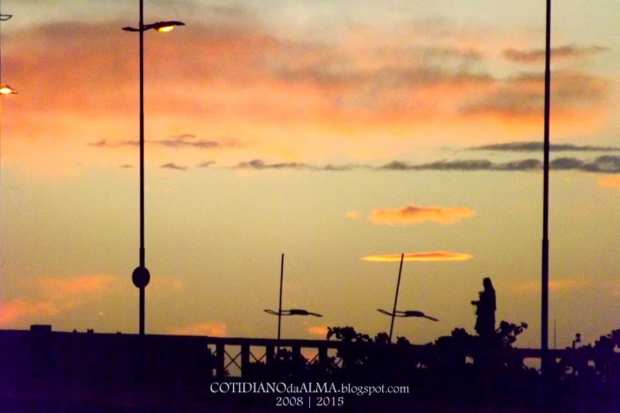 Ezequiel Rodrigues. Cotidiano da alma. Pôr do sol. Rio Potengi. Natal. RN. Rio Grande do Norte.