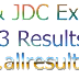 Junior School Certificate Exam Result 2013, JSC-JDC Results