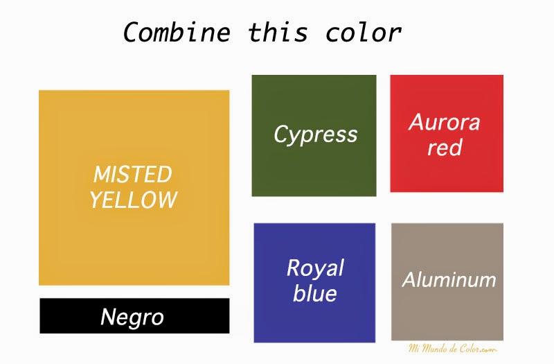 Combina el empañó amarillo Otros estafadores colores