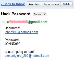 Hotmail Hacking Software To Hack Hotmail Password