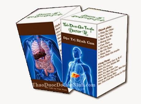 Thảo dược gia truyền đặc trị bệnh gan Doctor Lê
