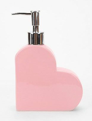cute Pink Heart soap dispenser