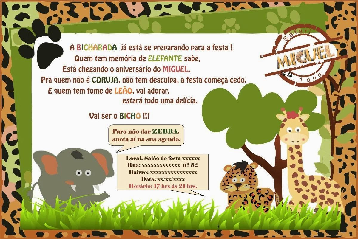Tag Frases Para Convite De Festa De 1 Ano