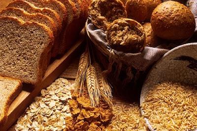 gandum dan serat