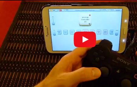 Bermain Game di Handphone Android dengan Joystick PS 3