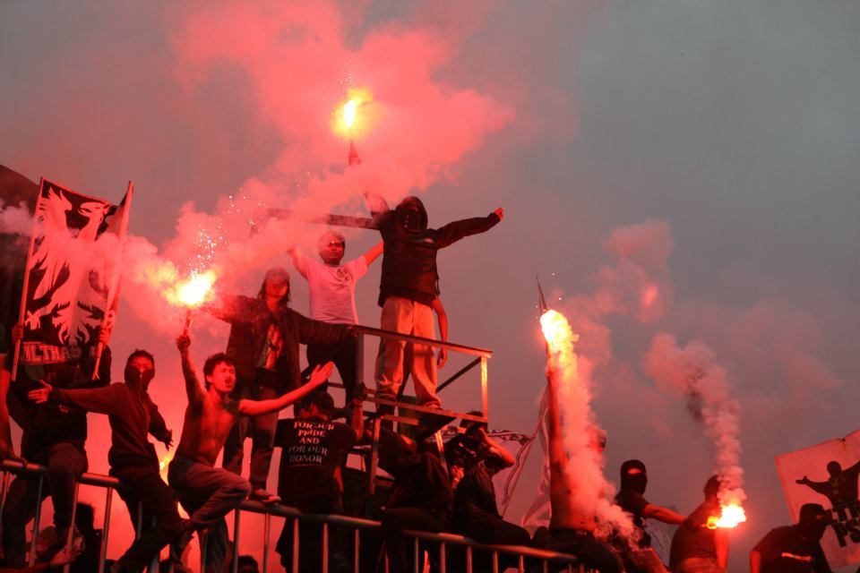 football without ultras is nothing!: Brigata Curva Sud