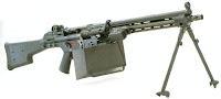 HK21 light machine gun LMG