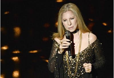 Barbra Streisand Natural Hair