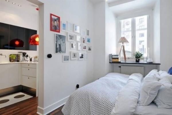 desain interior kamar tidur ukuran kecil kamar tidur