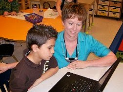 Ms. Cassidy is a great teacher that brings the use of technology into her classroom.