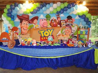 Fiestas Infantiles Toy Story, parte 2