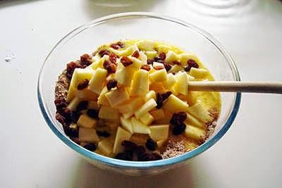 Muffin alle mele e crusca 6