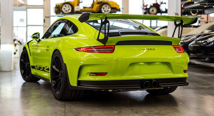 Porsche Exclusive Does A 911 Gt3 Rs In Retina Burning Lime