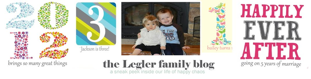 The Legler Family Blog
