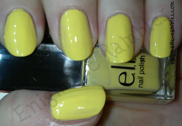 ELF-eyes-lips-face-nail-polish-set-beautifully-bright-yellow-swatch