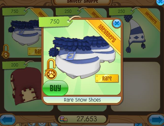 Animal Jam Codes http://animaljamfrozen.blogspot.com/2012/12/rare-monday-rare-snow-shoes.html