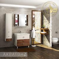 Новинки от Акватон: мебель Стамбул и Блент для ванной комнаты