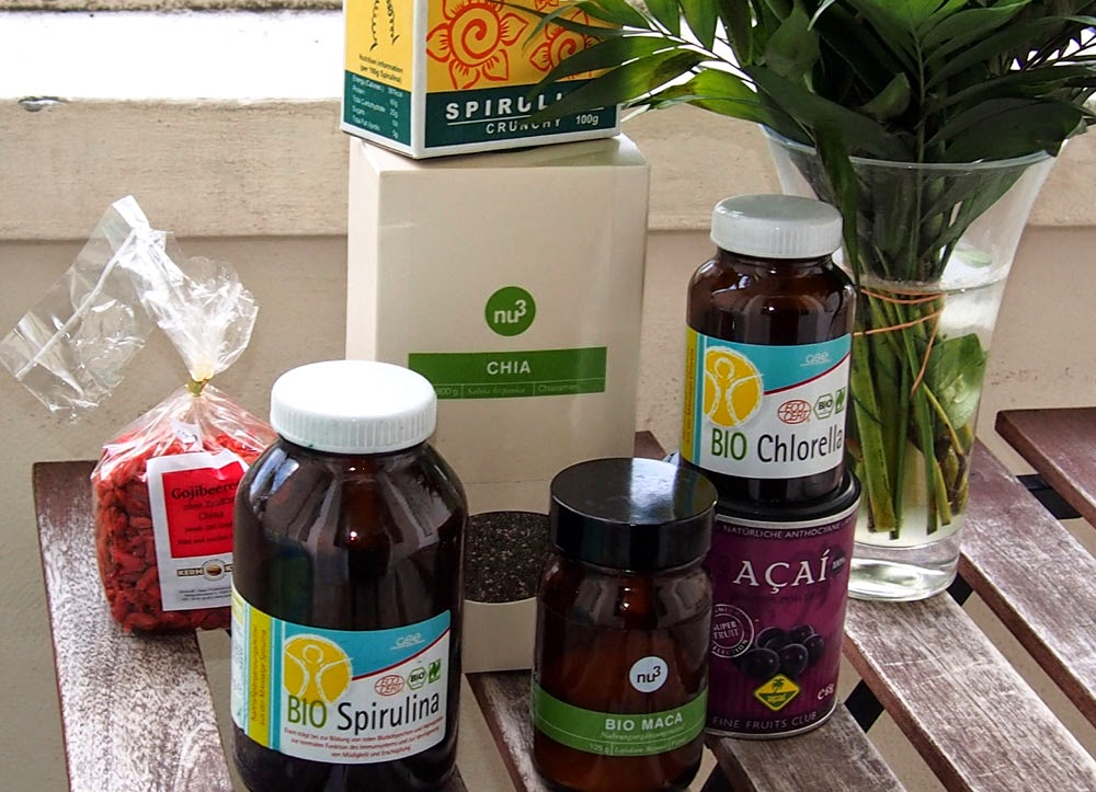 Superfoodit sisältävät paljon vitamiineja ja mineraaleja.