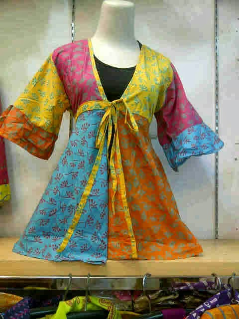 Model Baju Batik Wanita Hamil Modern Terbaru