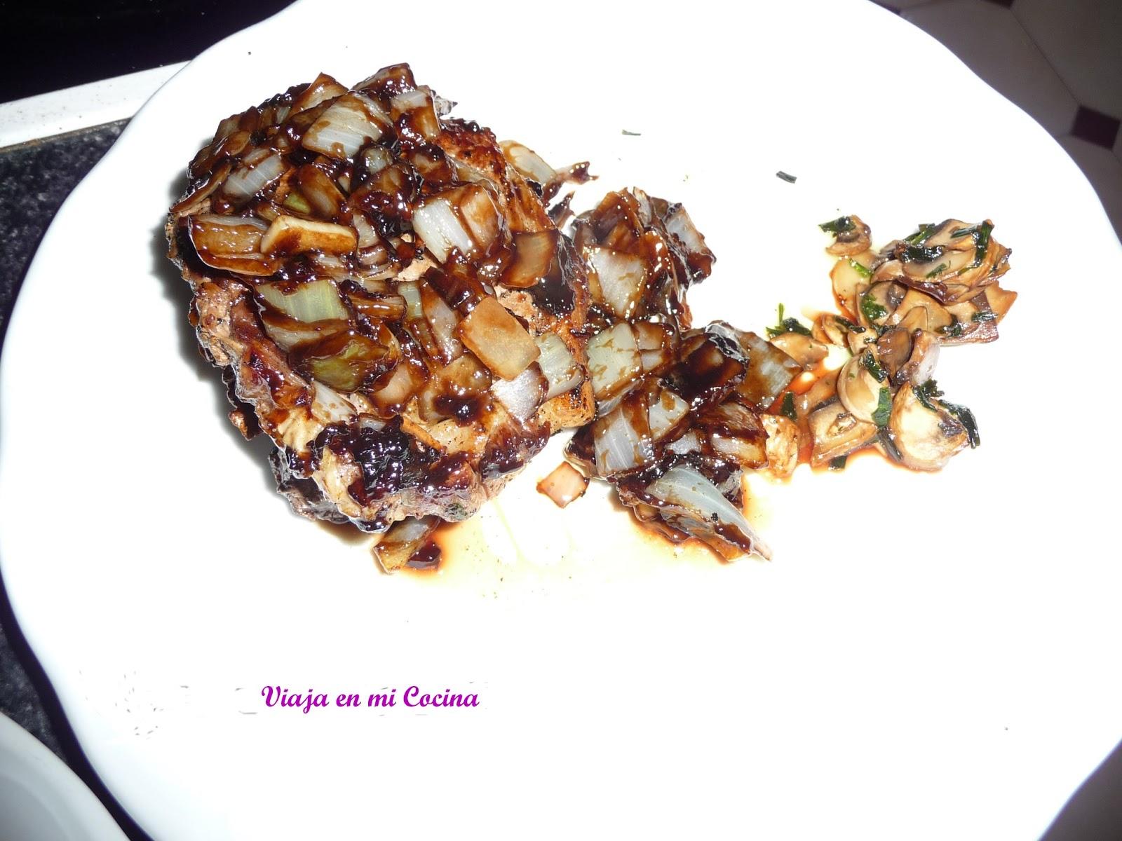 Ternera en salsa de Tamarindo