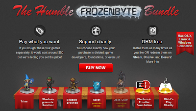 The Humble Indie Frozenbyte Bundle linux games