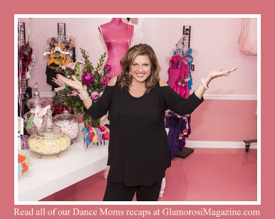Abby Lee Miller in the Broadway Baby Shoppe in her ALDC LA studio