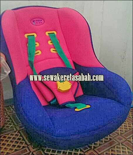 child car seat kereta sewa sabah