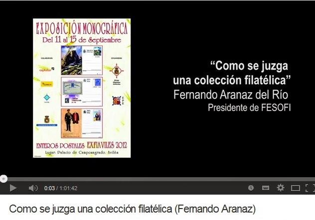 COMO SE JUZGA UNA COLECCIÓN FILATÉLICA (FERNANDO ARANAZ)